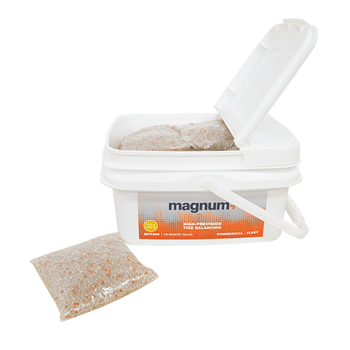 MAGNUM+ tire balancing beads Fleet tub MFP300
